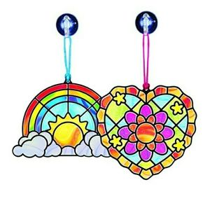 Melissa and Doug Stained Glass Made Easy ❤🌈